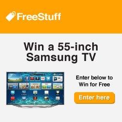 Win a Free Samsung Flat Screen TV