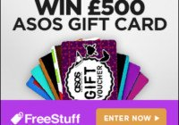 Win 500 Pounds of ASOS Vouchers for Free