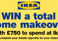 free_comp_to win 750 pounds to spend at IKEA