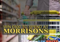 Win £500 to Spend at Morrisons Free Online Competition