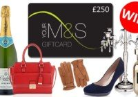 win a 250 pound m&s gift card