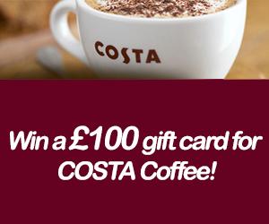 Win a Costa Coffee Gift Card