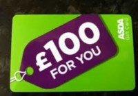 £100 Asda Vouchers