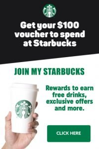 win free coffe at starbucks