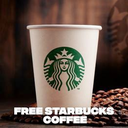 free competition to win £100 starbucks coffee